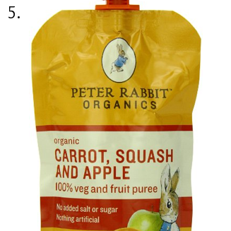 peter rabbit fruit and veg pouch