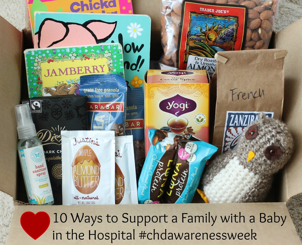 10 ways to support a family with a baby in the hospital via yummytoddlerfood.comjpg