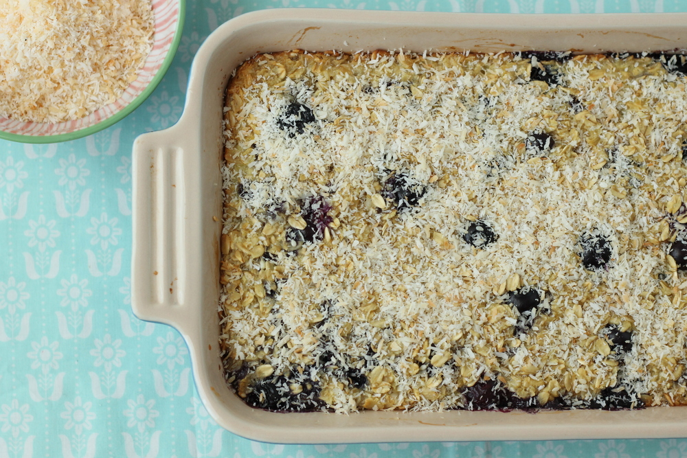 Coconut Cream Baked Oatmeal from Brown Eggs and Jam Jars Cookbook