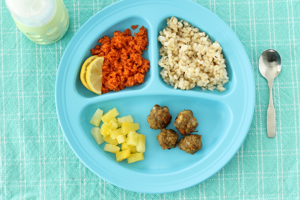 Mini Moroccan Lamb Meatballs via yummytoddlerfood.com