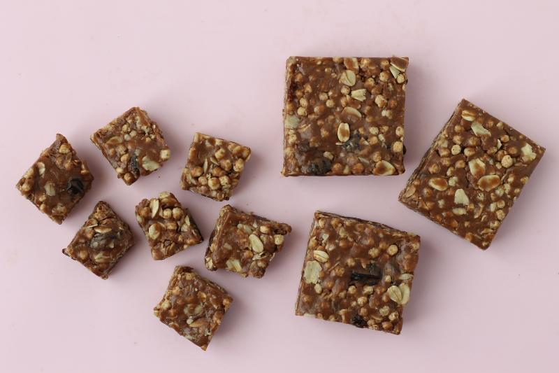 Nutty Flax Cereal Bars via yummytoddlerfood.com