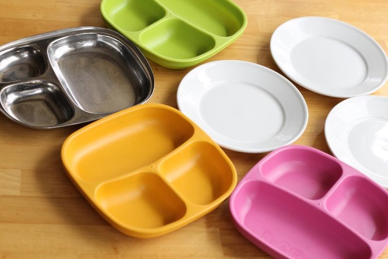 Favorite toddler plates via yummytoddlerfood.com