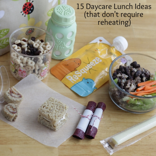 15 Daycare lunches