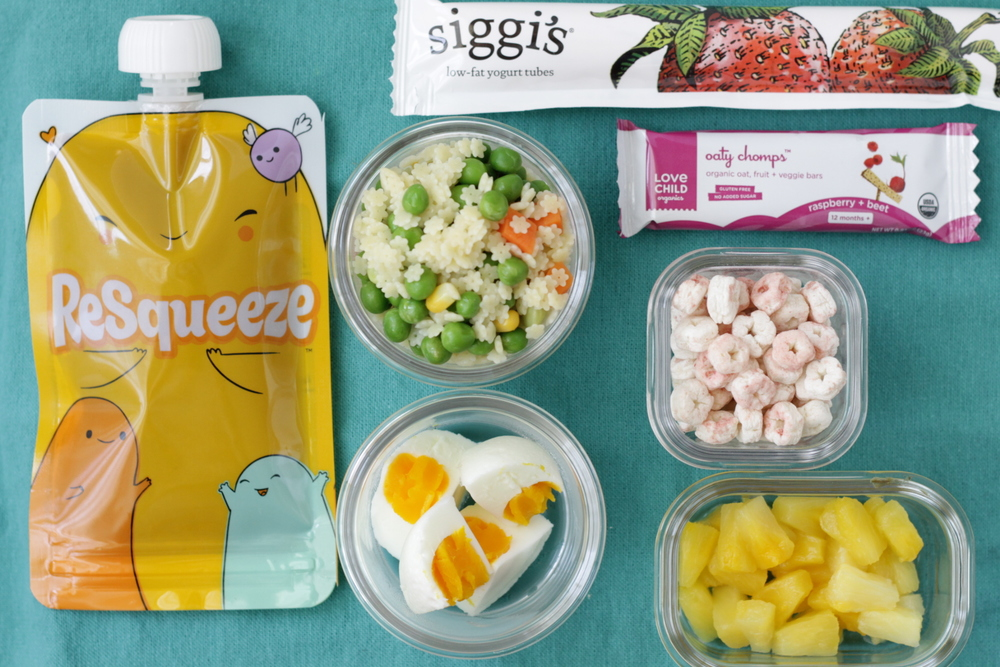 Yummy Toddler Lunch + Snacks: Pasta Stars, Hard-Cooked Egg, and more via yummytoddlerfood.com