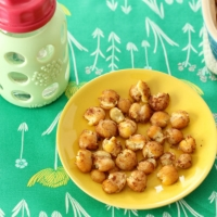 Soft-Baked Cinnamon Honey Chickpeas