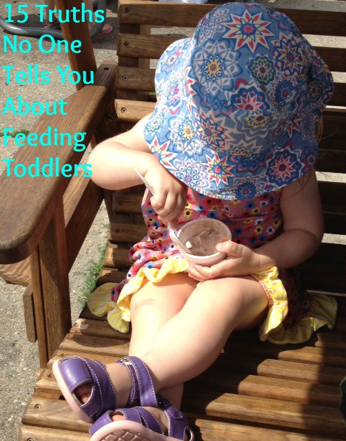 15 Truths No One Tells You About Feeding Toddlers l yummytoddlerfood.com