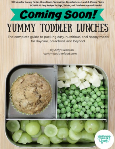 Coming soon: Yummy Toddler Lunches ebook. Available July 27 yummytoddlerfood.com