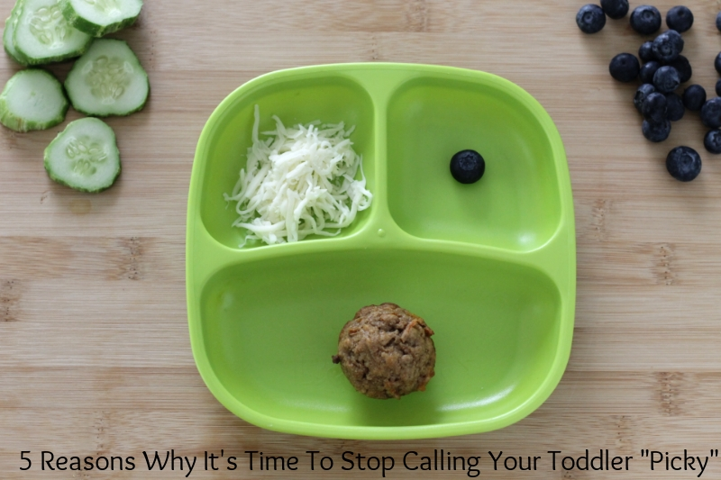 "Why You Should Stop Calling Your Toddler ""Picky"" l yummytoddlerfood.com"