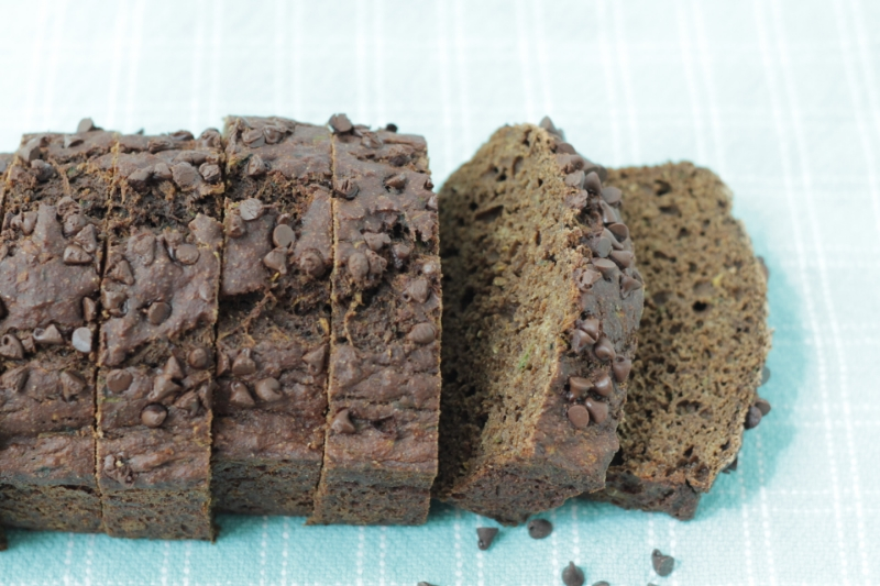 Cocoa Zucchini Bread- Mom and Kid Approved