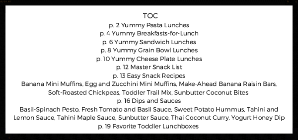 lunches TOC