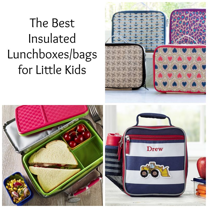 Back to (pre)school insulated lunchbags (yummytoddlerfood.com)