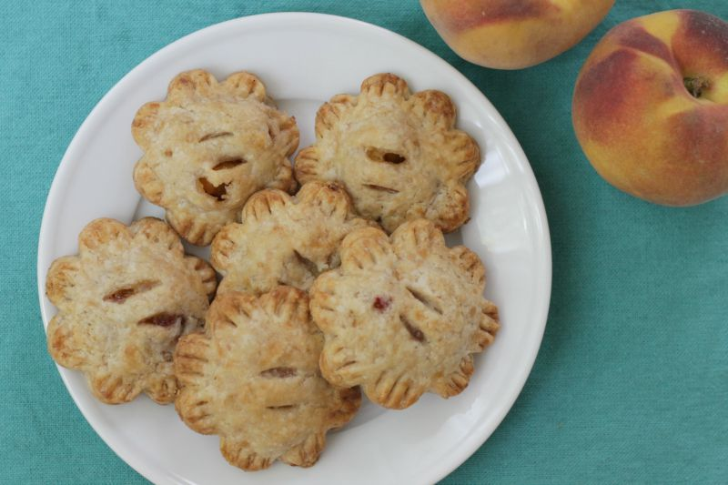 Low sugar peach hand pies (yummytoddlerfood.com