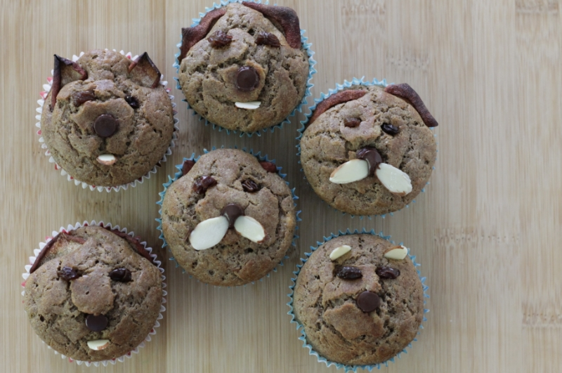 Muffin critters (yummytoddlerfood.com)