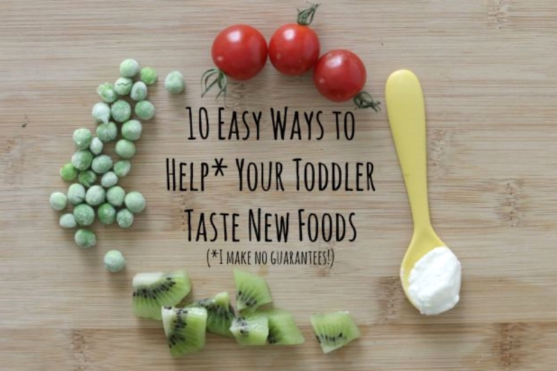 10 Easy Ways to Help Your Toddler Try New Foods (yummytoddlerfood.com)