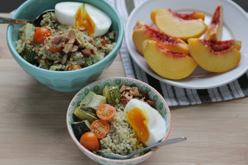 Easy Family Dinner: DIY Pesto Quinoa Bowls