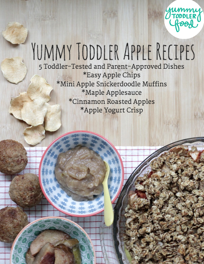 Yummy Toddler Apple recipes