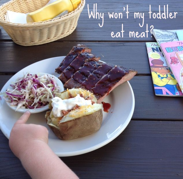 Talking about why your toddler might not want to eat meat with author and RD Maryann Jacobsen