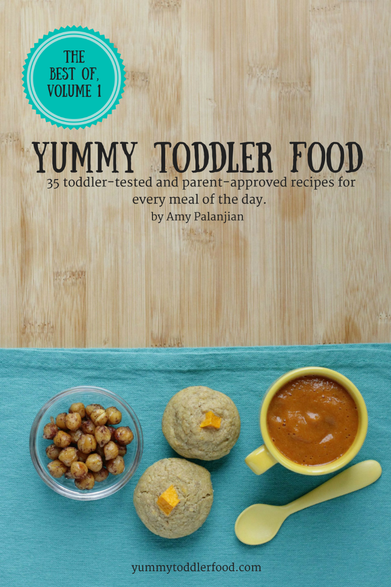 Best of Yummy Toddler Food, Volume 1, on sale now!