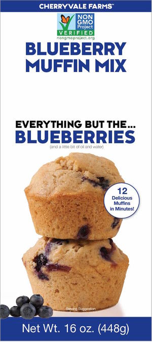 Egg-free Blueberry Muffin Mix