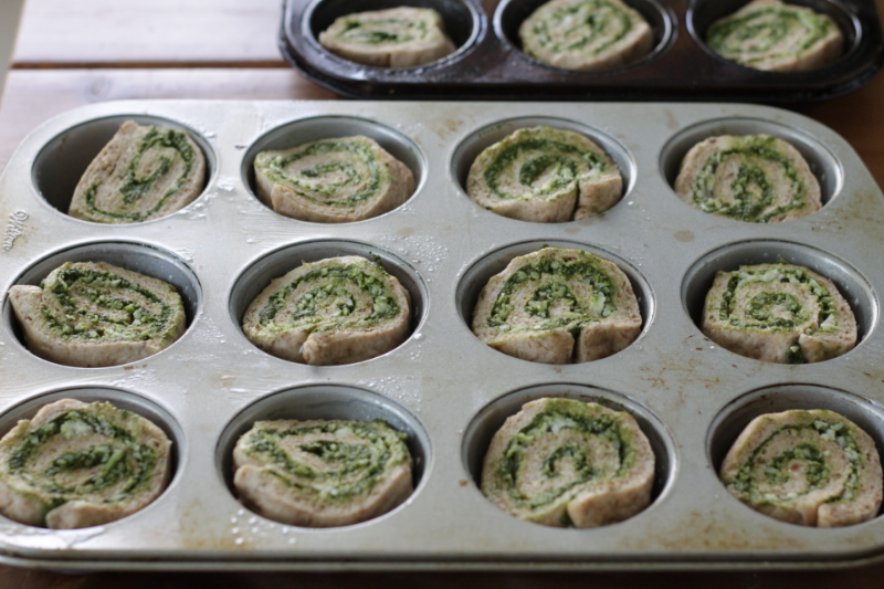 Kale Pizza Rolls, easy to make and super yummy for little ones of all ages