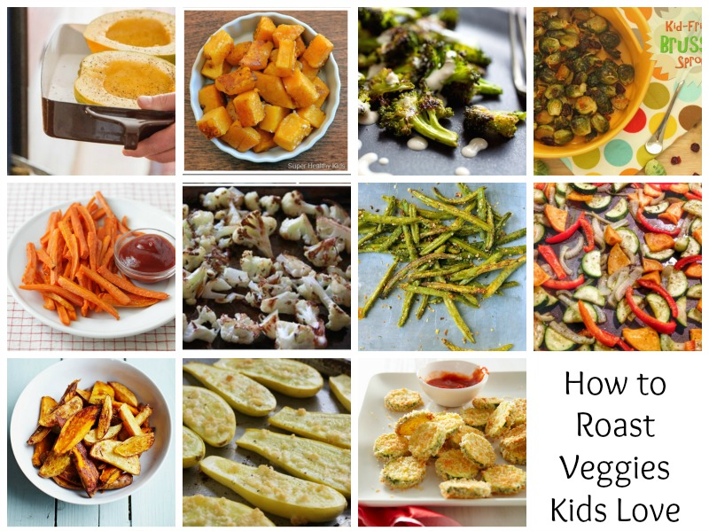 How to Roast Veggies that Your Toddler Will Love