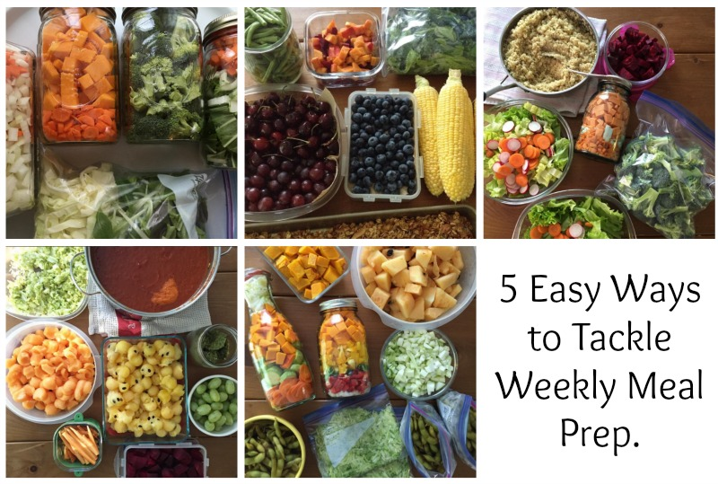 Weekly Meal Prep ideas to help you feed your family more easily