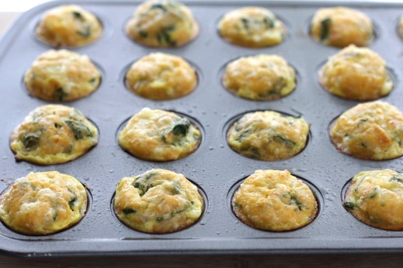 Quick and Easy Mexican Egg Muffins with Spinach