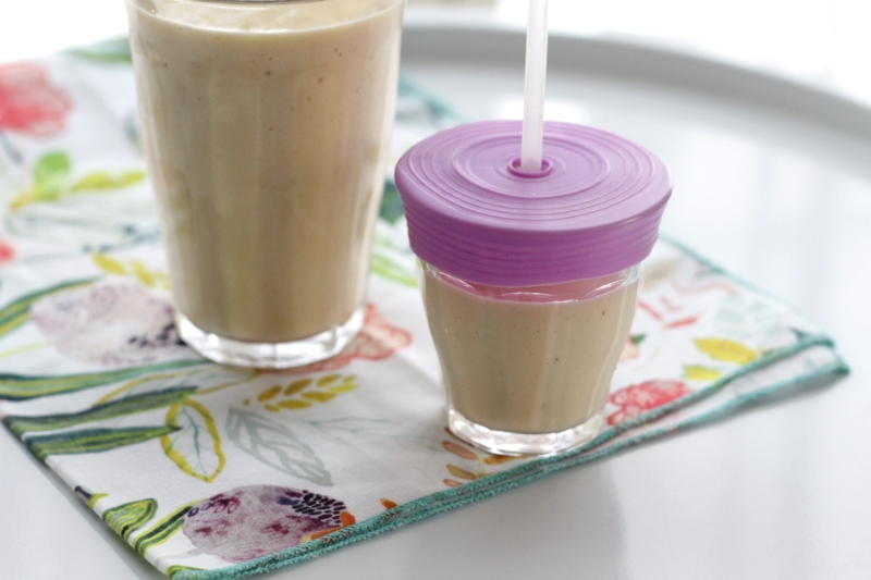 Super Simple All-Fruit Smoothie for toddlers