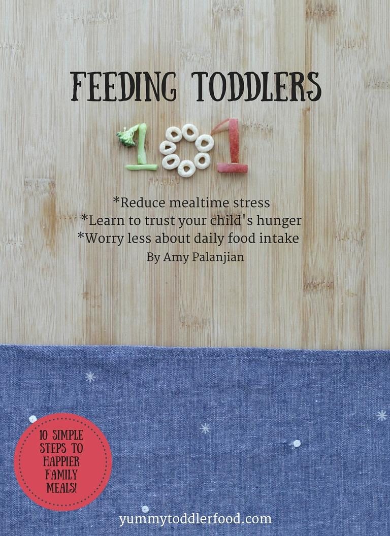 Brand new ebook: Feeding Toddlers 101
