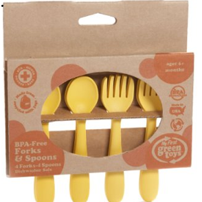 Green Toys BPA-Free Feeding Spoon/Fork