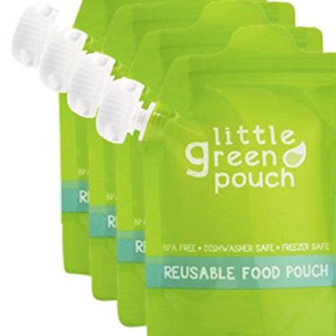 Reusable Food Pouch - Large 7oz. Capacity 4-pack