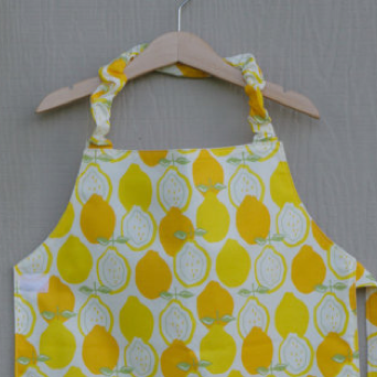 Toddler Apron, Lemons