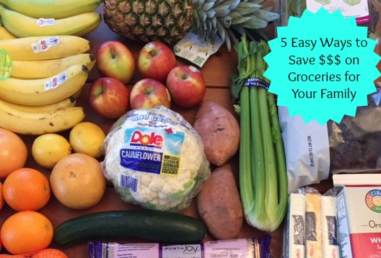 5 Easy Ways to Save Money on Groceries for Your Family