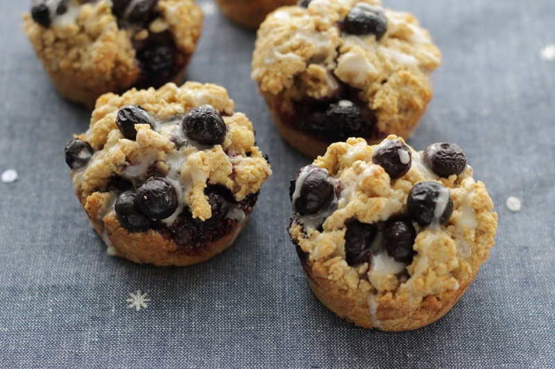 Blueberry Muffin-Tin Scones