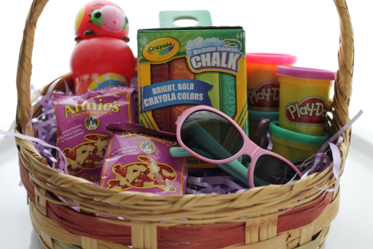 Easter basket ideas for toddlers easy easter basket ideas for toddlers negle Image collections