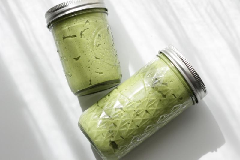 Easy broccoli pesto for little ones