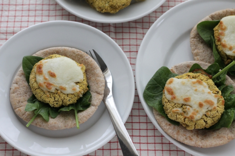 Easy baked falafel for family dinner