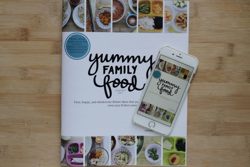 Yummy Family Food vol 1- happy, wholesome meals for busy families