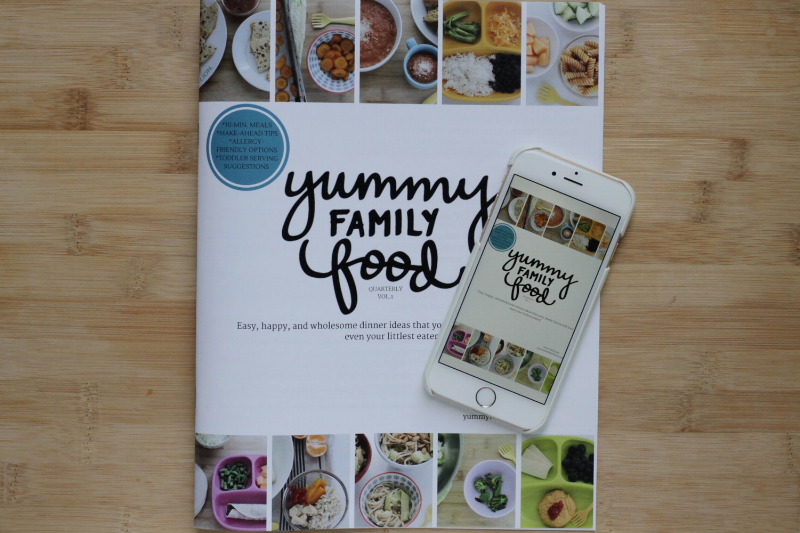Yummy Family Food: Easy, happy, wholesome meals for everyone in the family!