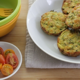Egg-Free Zucchini Flax Muffins {And Thoughts on Sneaking ...