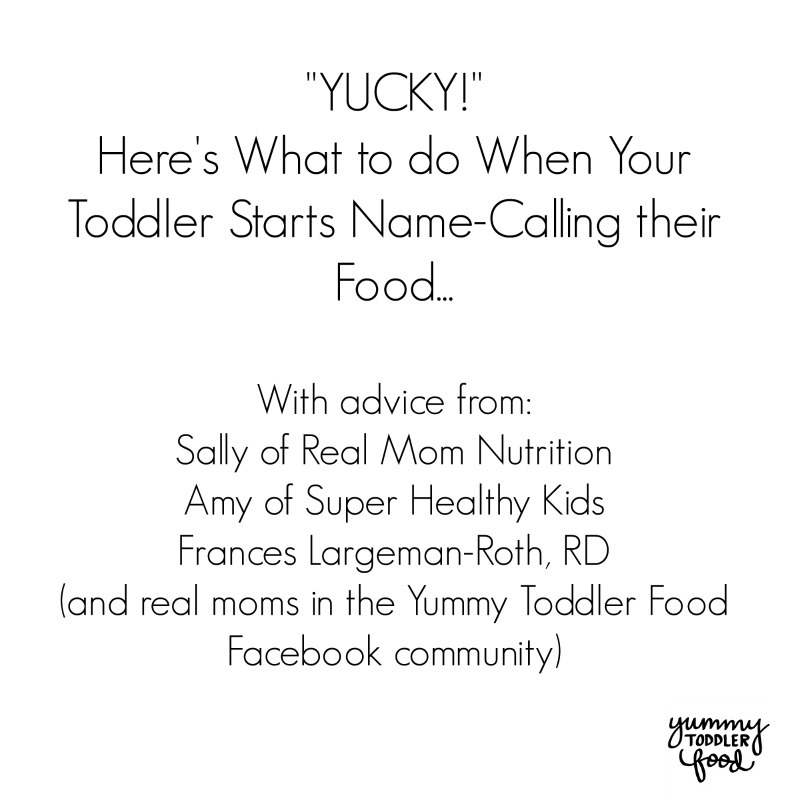 Tips for toddlers at the dinner table...