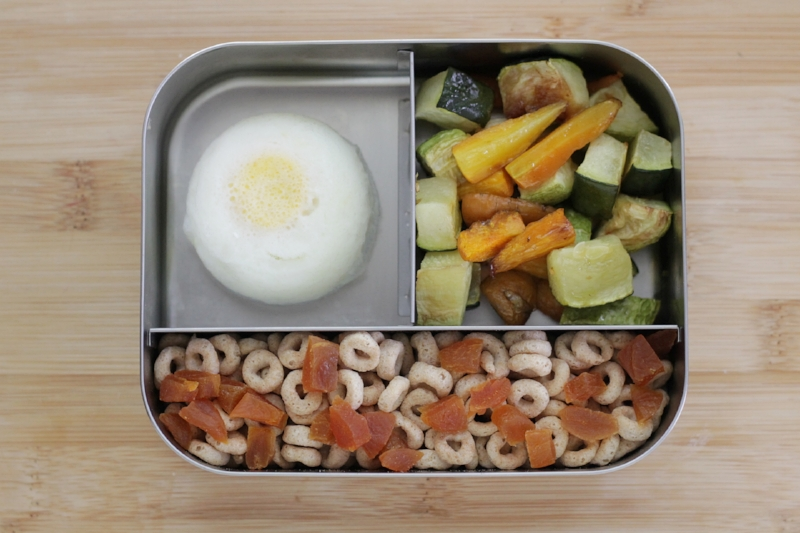 Easy Toddler Lunch for daycare or preschool