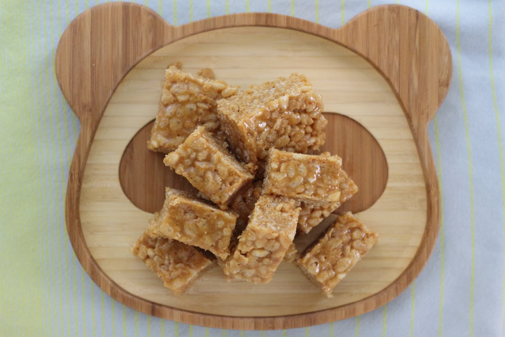 3 Ingredient Crispy Rice Squares