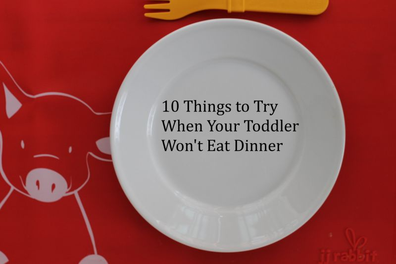 Toddler Won't Eat? Try This!