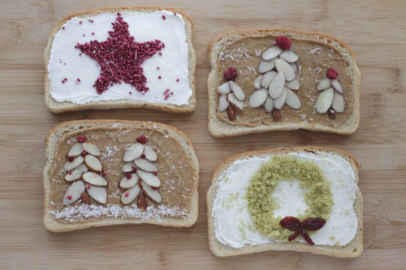Healthy holiday toasts!