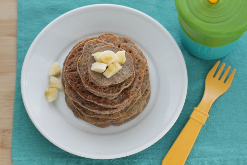 Allergy-Friendly Banana Pancakes for the family