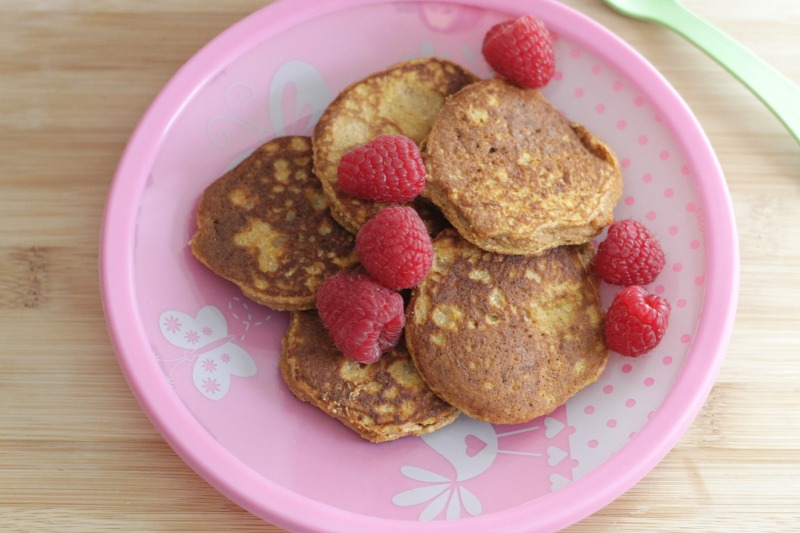 Paleo Sweet Potato Pancakes for the whole family