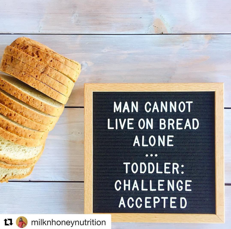 Credit to Milk and Honey Nutrition via Instagram