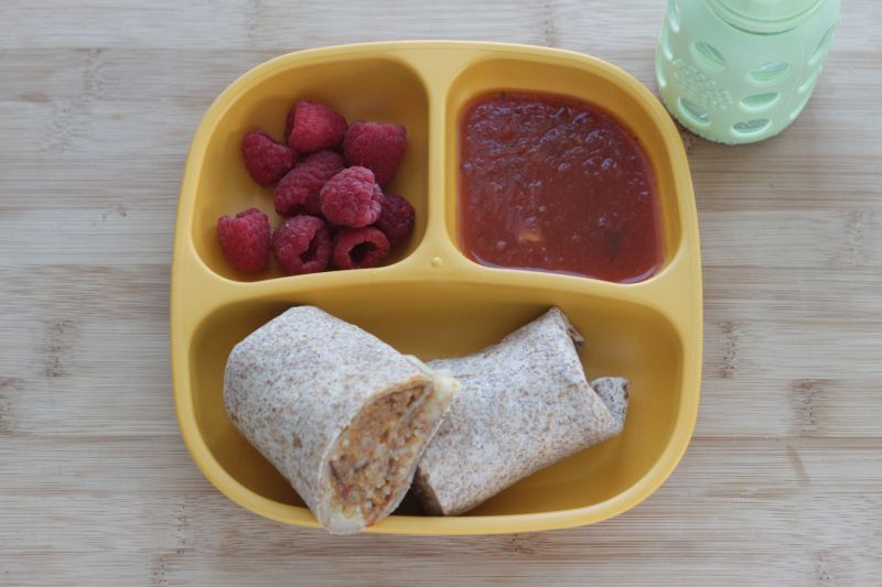 Slow Cooker Veggie-Packed Burritos