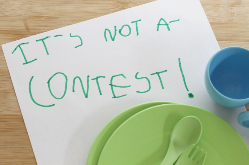 Thoughts on how to reduce parental nutrition contests...